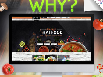 Why Thai Restaurant Owner should Work with a Professional Thai Web Designer?