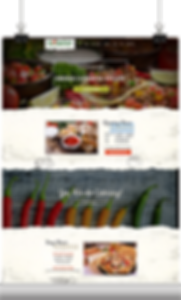 restaurant website design - by nuchdesigns.com