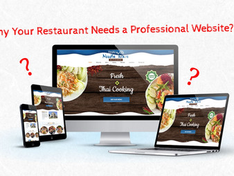 Why Your Restaurant Needs a Professional Website – An Updated Website and Social Media Account Can G