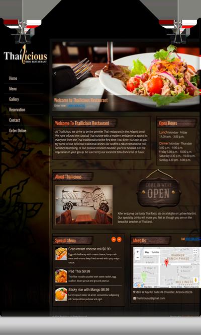 Thailicious Restaurant