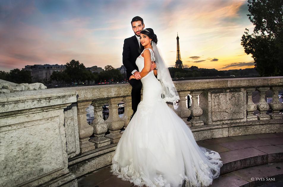Mariage Paris - Pont Alexandre III