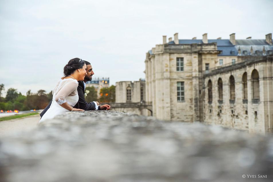 Mariage Château de Vincennes