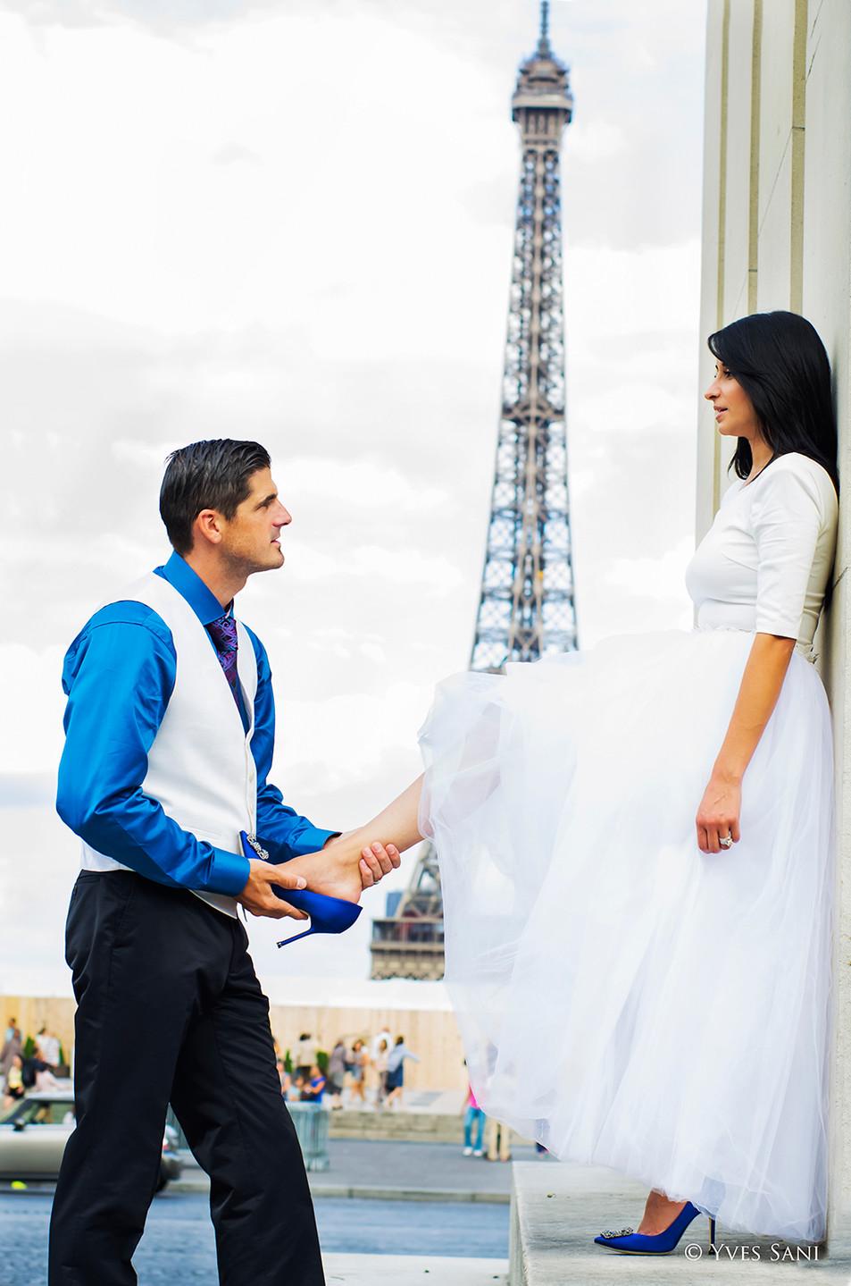 Mariage Paris - Esplanade Trocadéro