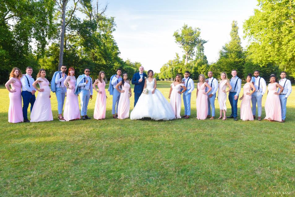 Les mariés et leurs FH & GH