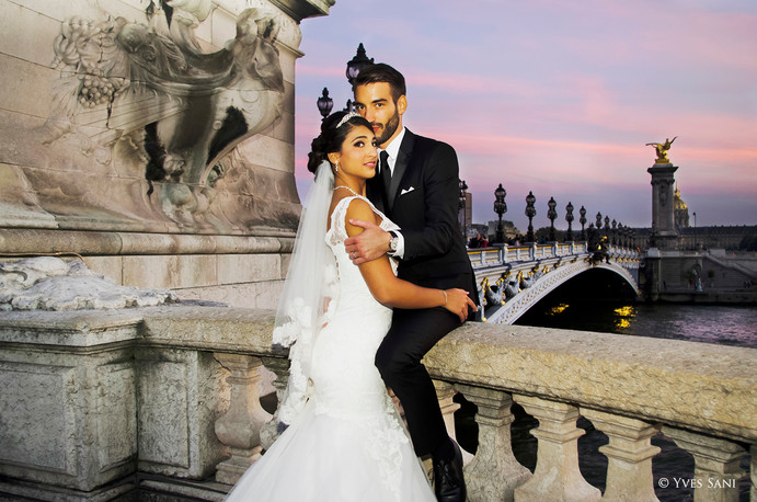Wedding Paris - Bridge Alexandre III
