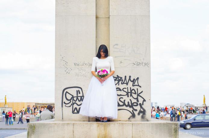 Mariage Paris -  Bride