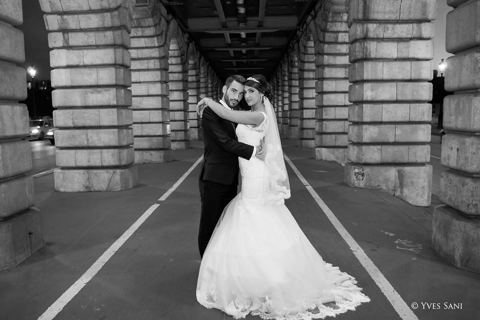 Wedding - Bridge of Bercy