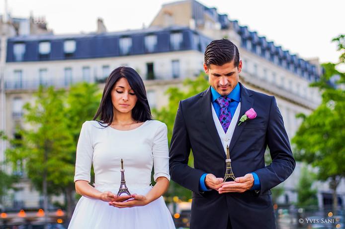 Mariage Paris - Tour Eiffel
