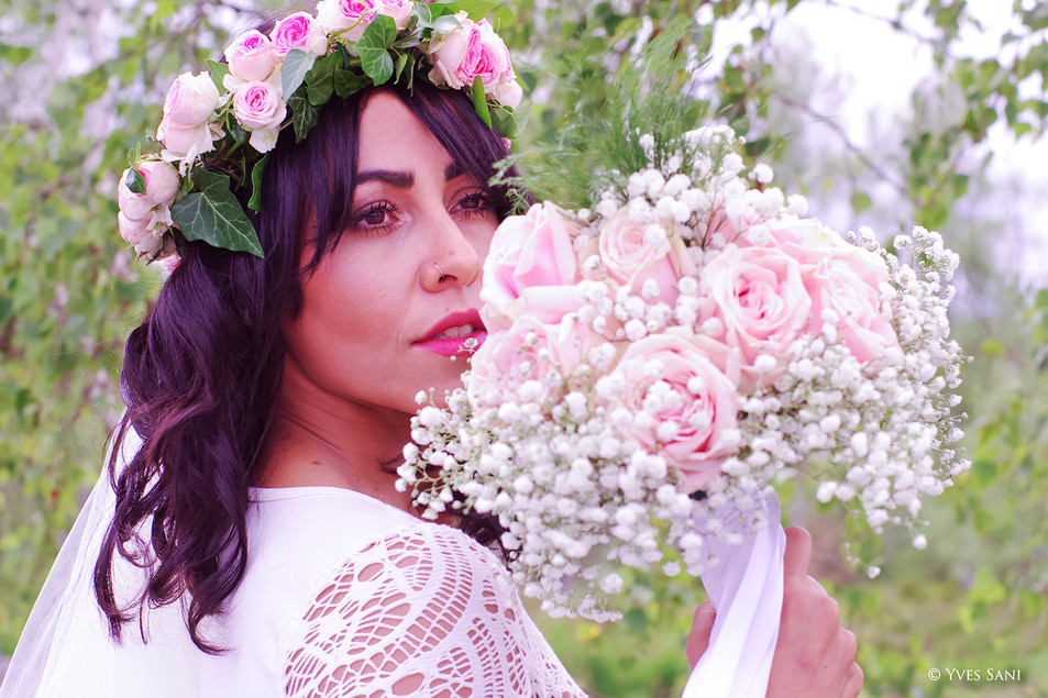 Bouquet de la mariée - Fôret de Fontainebleau