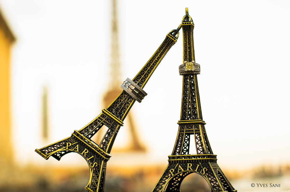 Wedding Ring - Eiffel Tower