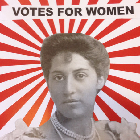 Suffragette and Princess Sophia Duleep Singh Mural