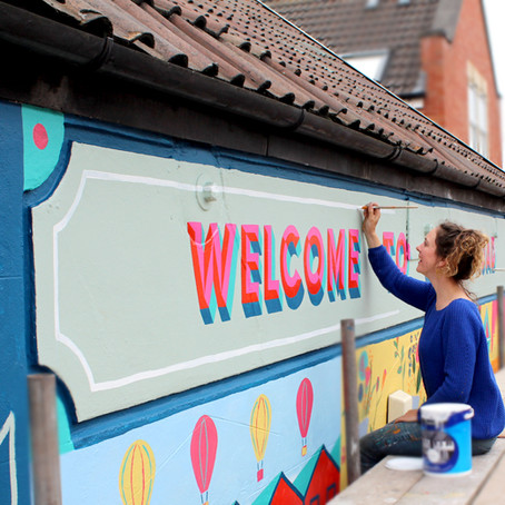 Big Lottery Fund Mural