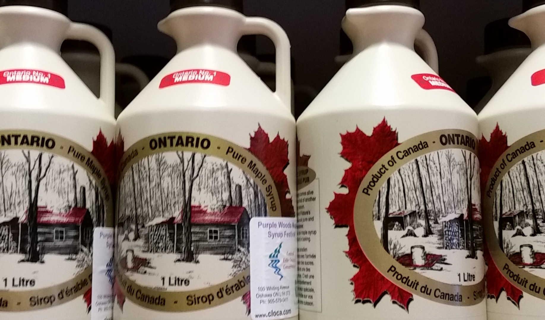 Purple Woods Maple Syrup