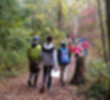 Imag of Students Hiking