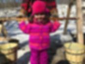 Image of Girl with Yoke and Buckets