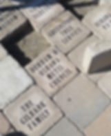 Image of bricks in Commemorative Heritage Walk