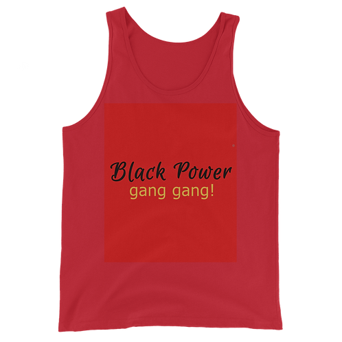 Bad & Bougee 4Real Black Power Unisex Tank Top