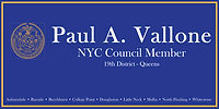 Paul A. Vallone NYC Council Member