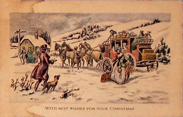 Holiday Greeting Cards of the Bell Family