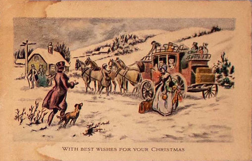 From the Archives: Holiday Greeting Cards of the Bell Family
