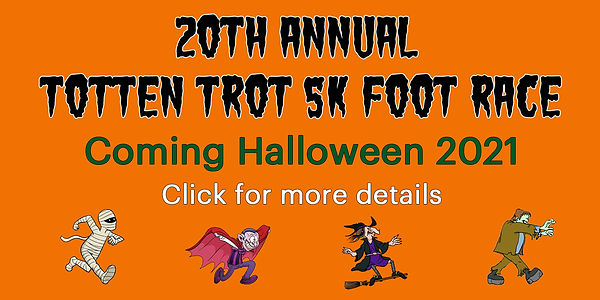 20th Annual Totten Trot Coming this Halloween