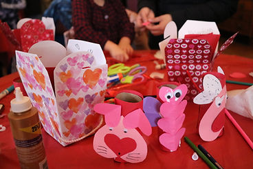 Valentine Crafts at the Castle