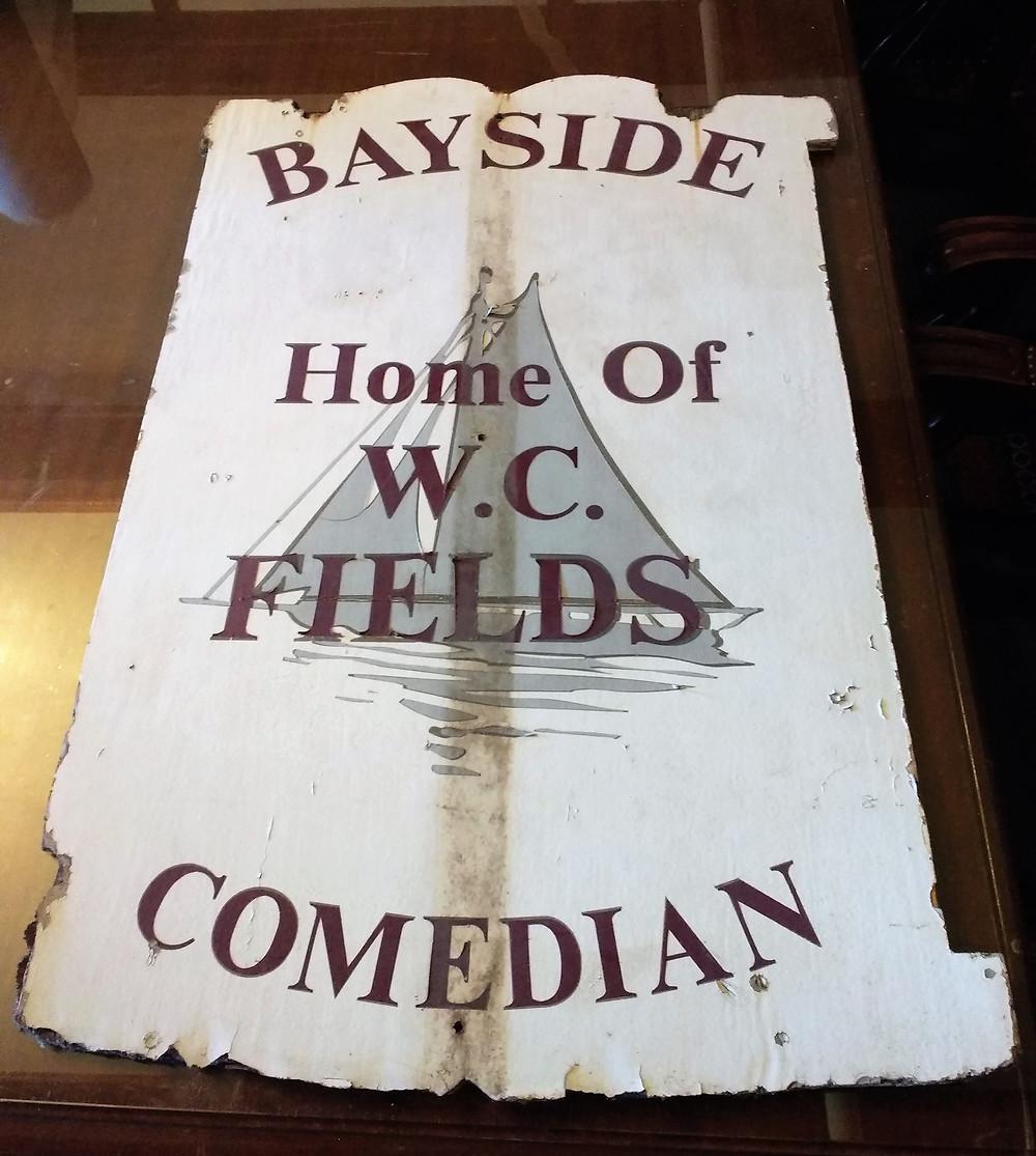 Vintage Bayside sign - front