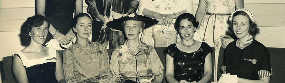 Fort Totten Women's Club Annual Luncheon, 1956