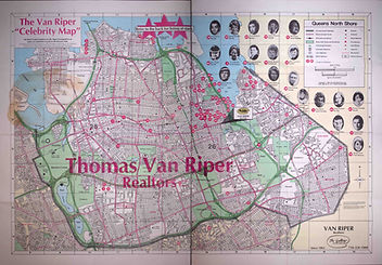 The Van Riper Celebrity Map