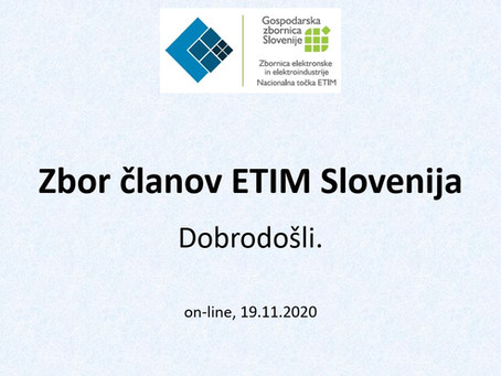 Zbor članov ETIM Slovenija