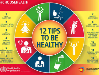 12 Tips to be Healthy