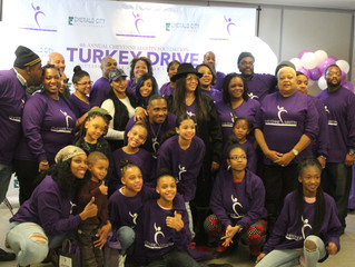 Cheyenne Martin Foundation 4th Annual Turkey Drive in Pittsburgh, PA.