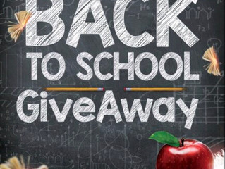 CMF Back to School Give-a-way
