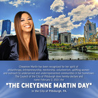"""Council of Pittsburgh, PA declares February 2nd, 2021 """"Cheyenne Martin Day"""""""