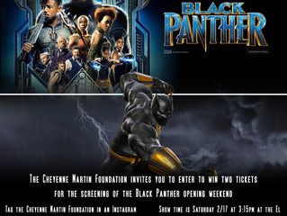 Black Panther tickets for the opening weekend.