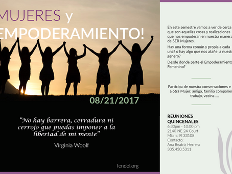 Mujeres y Empoderamiento!