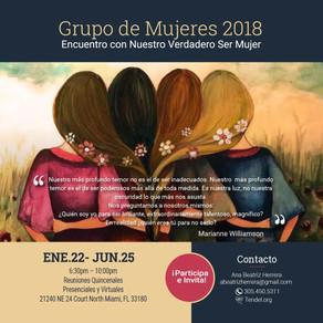 Inicia Grupo de Mujeres 2018