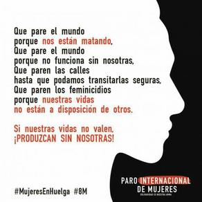 Eventos Dia Internacional de la Mujer