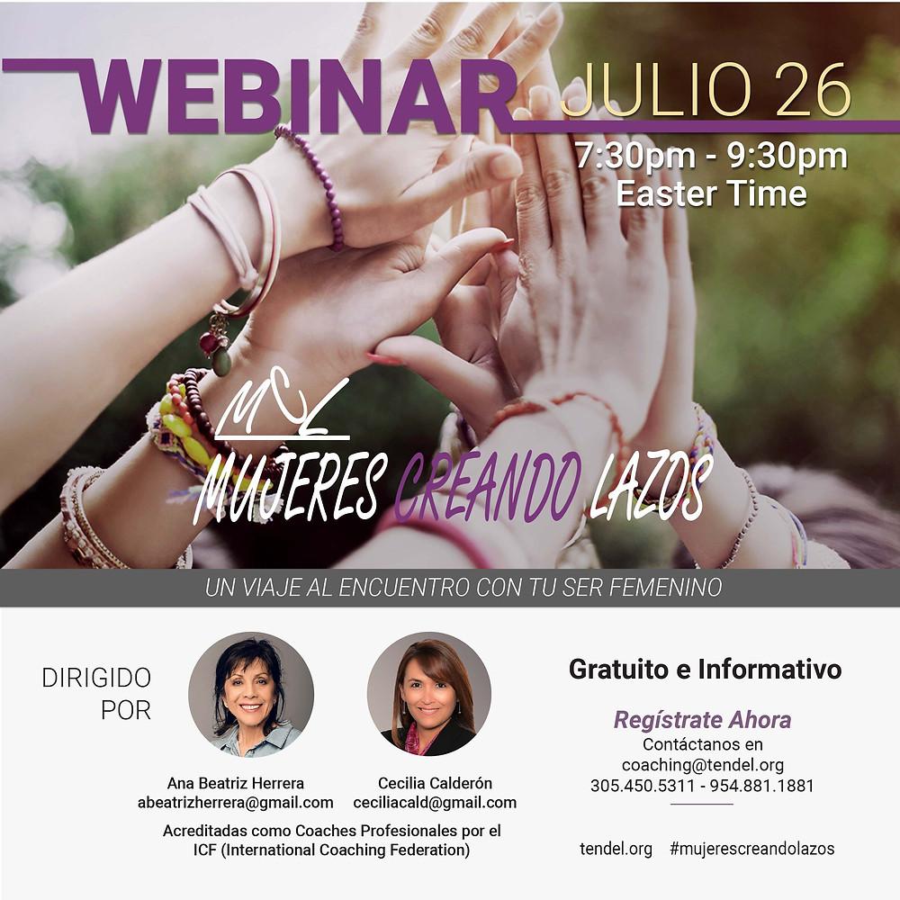 Invitación Webinar julio 26