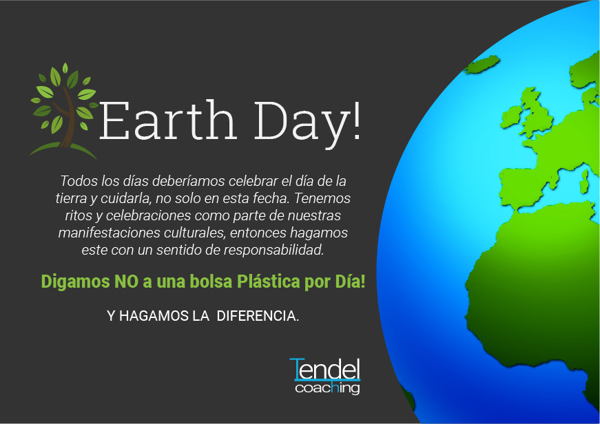 Earth Day- Tendel coaching
