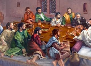 WHAT JESUS SANG BEFORE HE DIED