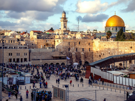 WHY IS THE HOLY LAND HOLY?