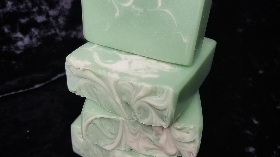 Green Irish Artisan Soap