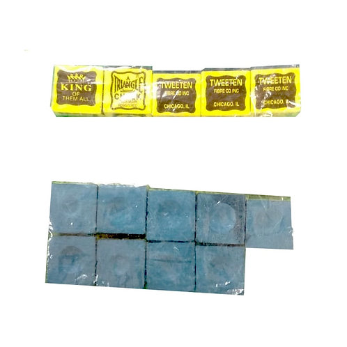 Bolsa Cosmético Triangle Chalk 9 pzs.