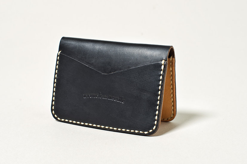 Horween Simple Cardholder Black