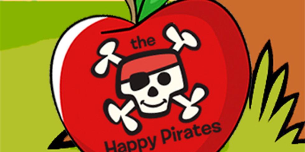 Happy Pirates Sail at Scarecrow Festival