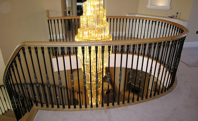Cast Iron Staircase Patterned by MJY Patterns