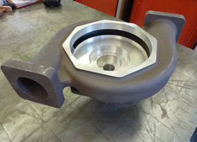 What is a water pump volute?