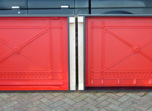 Decorative Cast Iron Panels
