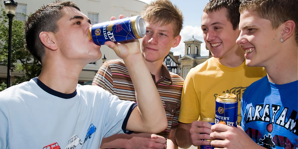 Let's talk about teenagers and alcohol